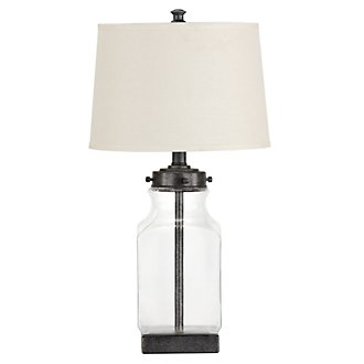 Jaycee Glass Table Lamp