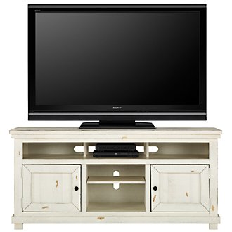 "Willow White 64"" TV Stand"