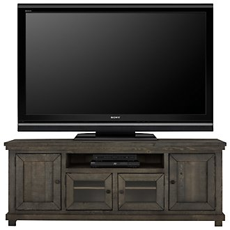 "Willow Gray 74"" TV Stand"