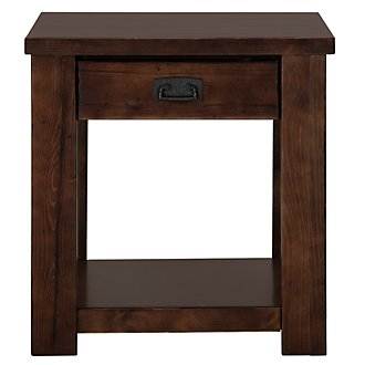 Kai Mid Tone Square End Table