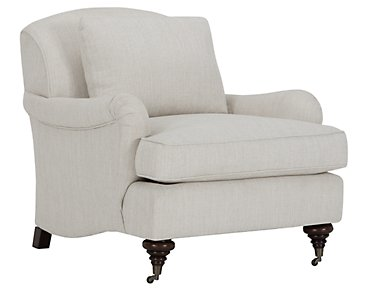 Churchill Light Taupe Fabric Chair