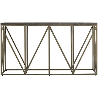 AUTHENTICITY Metal Sofa Table