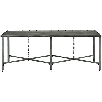 Eliston Metal Rectangular Coffee Table