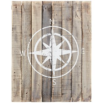 Compass Wood Wall Art