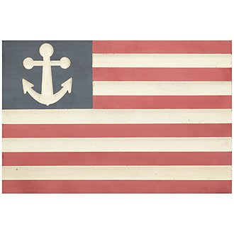 Flag Wood Wall Art