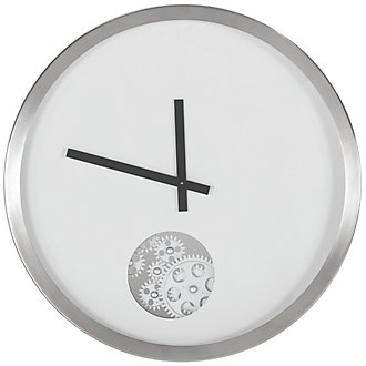 Adam White Wall Clock