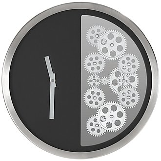 Todd Black Wall Clock