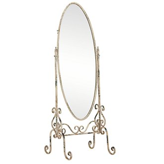Bella Metal Floor Mirror