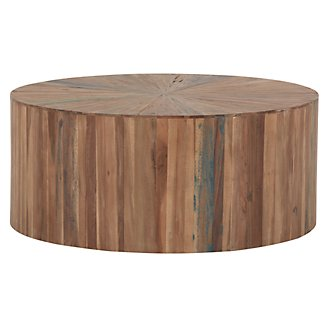 Brax Wood Large Accent Table