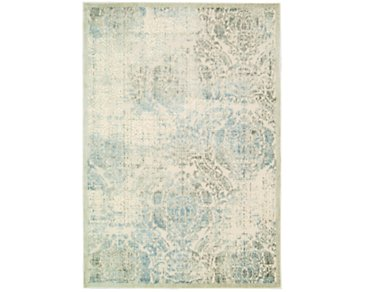 Graphic Beige 8X11 Area Rug