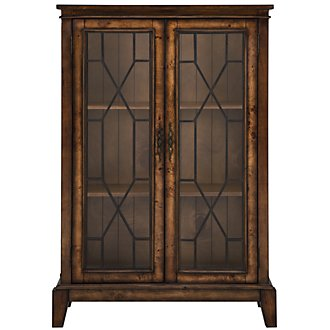 Cresthill Mid Tone Two-Door Cabinet
