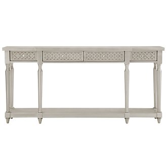 Margo Silver Console Table