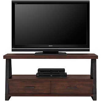 "Dakota Dark Tone 54"" Storage Tv Stand"