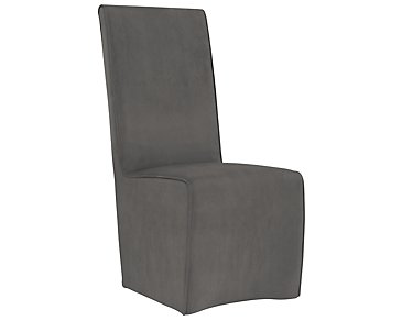 Langley Gray Upholstered Side Chair