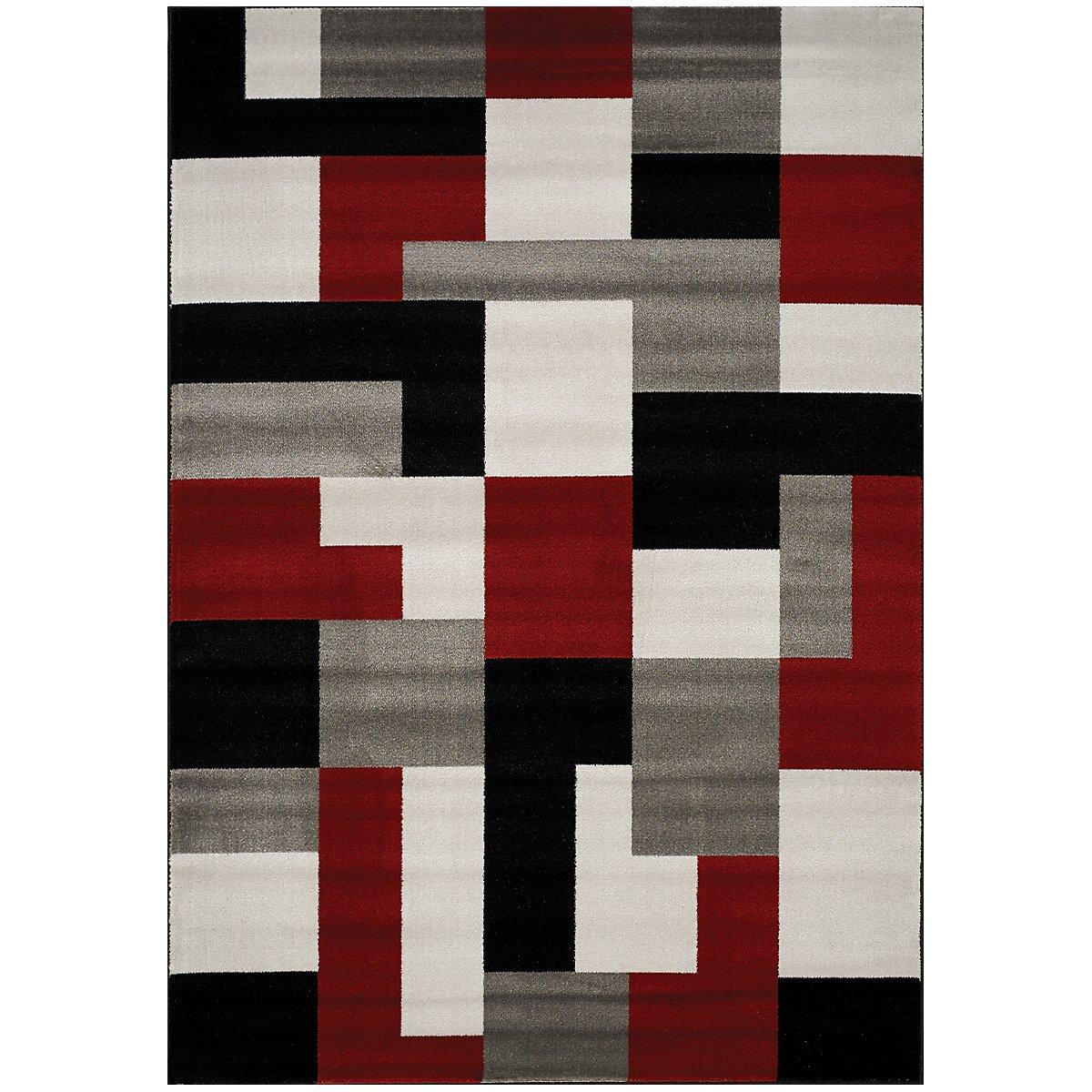 City Furniture Tetris Multi 5x8 Area Rug
