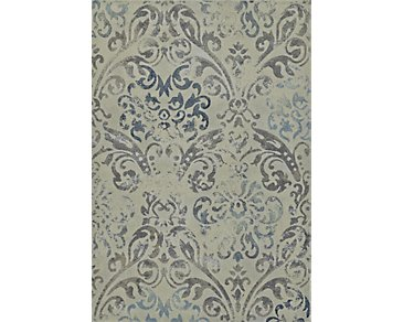 Geneva Gray 5X8 Area Rug