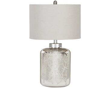 Coral Light Beige Table Lamp