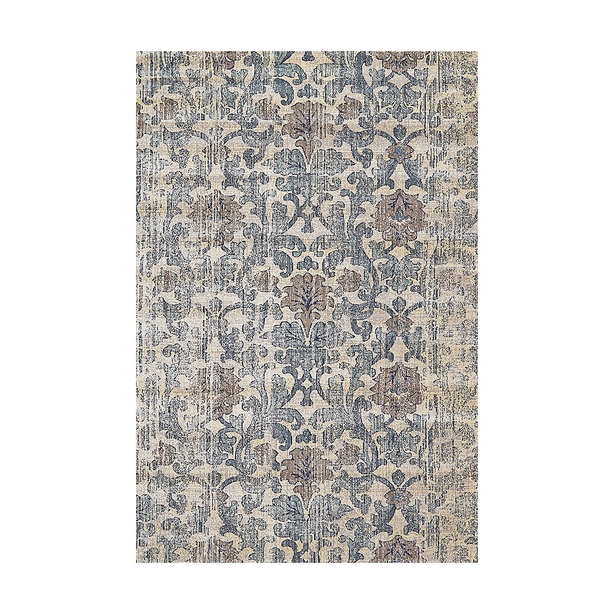 Fiona Blue 5X8 Area Rug