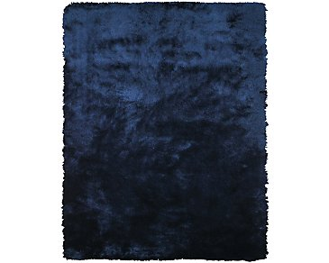 Indochine Dark Blue 5X8 Area Rug