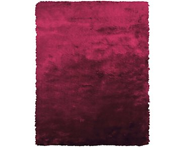 Indochine Red 5X8 Area Rug