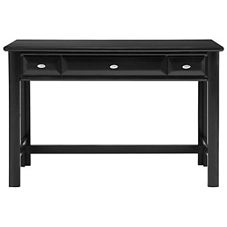 Laguna Black Writing Desk