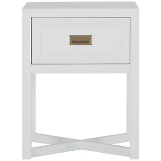 Ryder White Nightstand