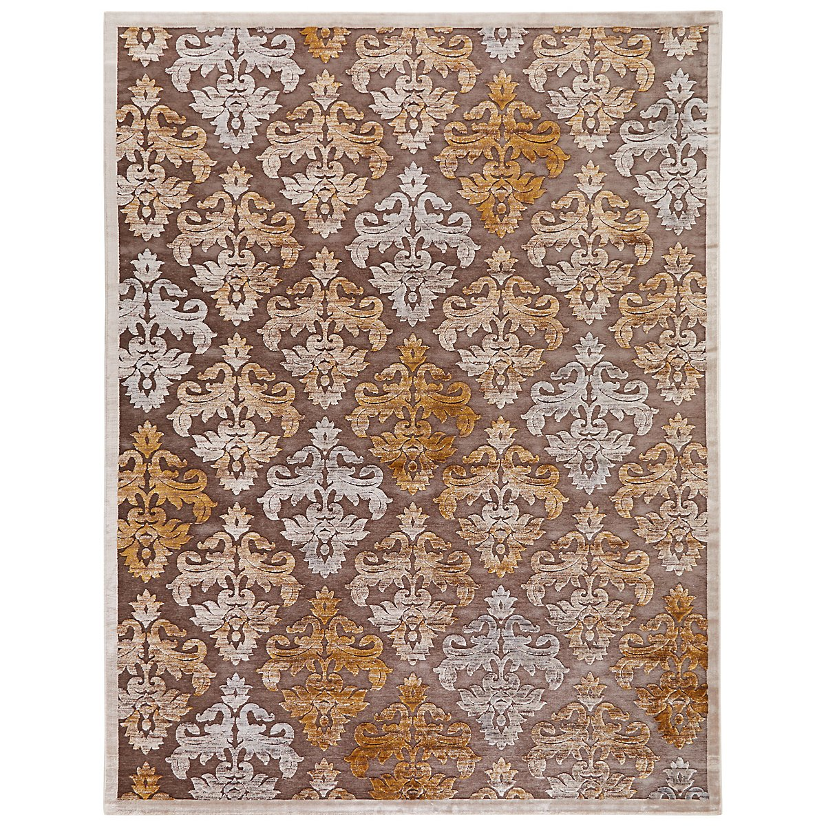 Majestic Gold 8X10 Area Rug