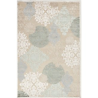 Wistful Multi 5X8 Area Rug