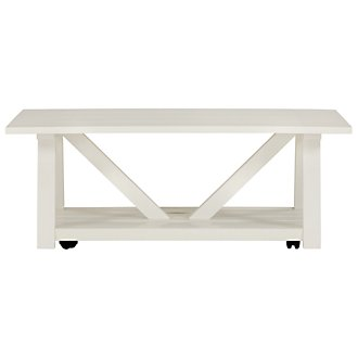 Quinn White Coffee Table