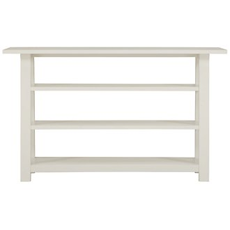Quinn White Sofa Table