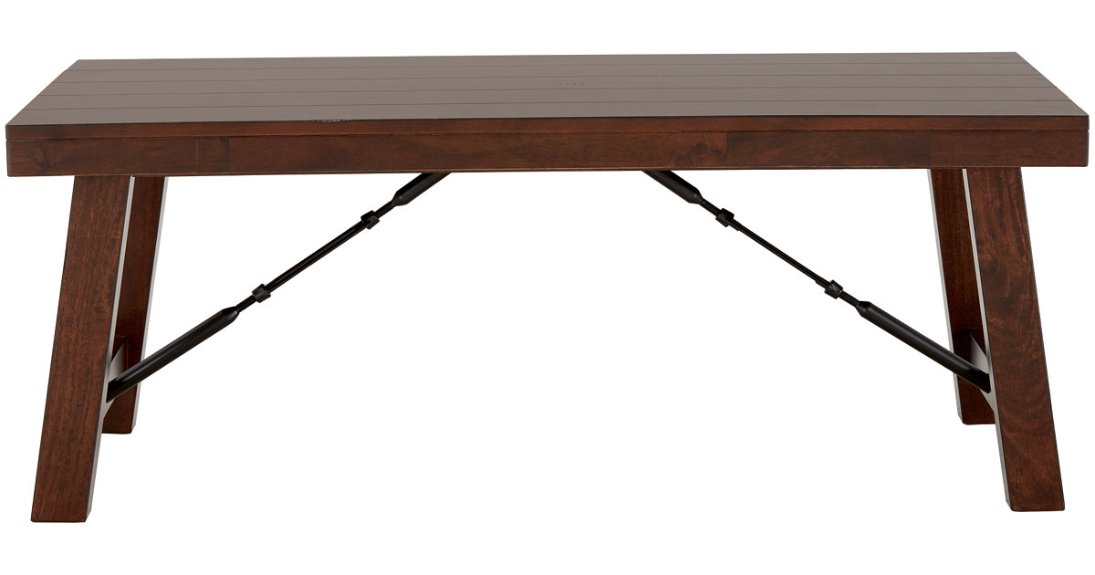 City Furniture Napa Dark Tone Rectangular Coffee Table