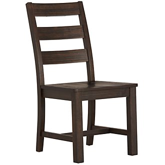 Holden Dark Tone Wood Side Chair