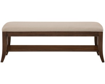 Savoy2 Mid Tone Wood Bench