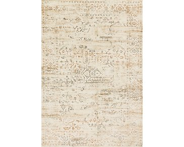 Kingston Light Beige 8X11 Area Rug