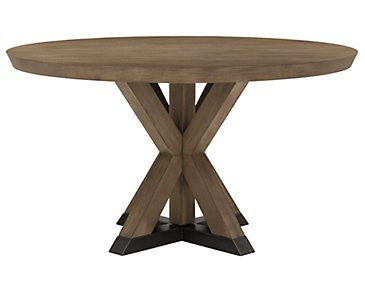 Mirabelle Light Tone Round Table