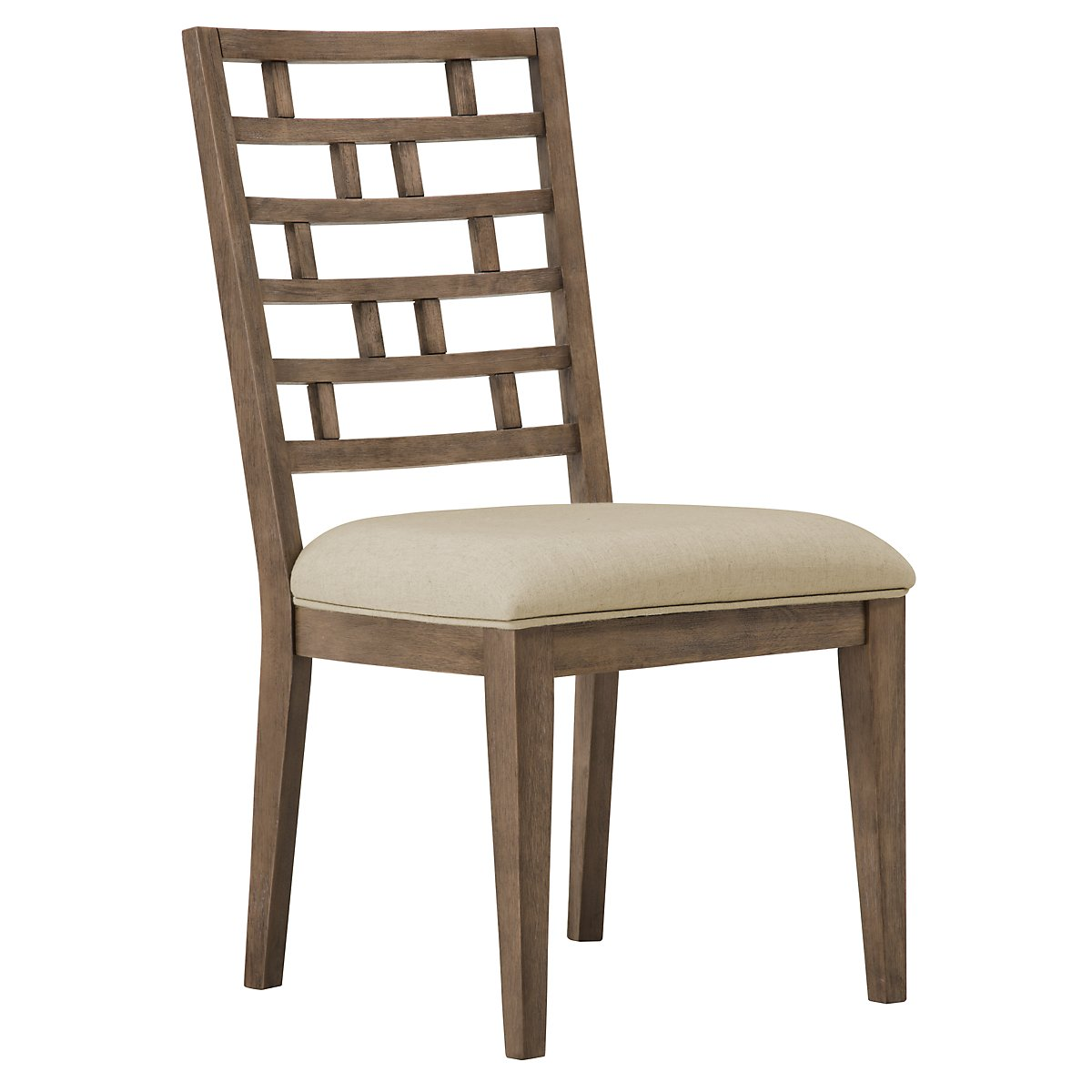 Mirabelle Light Tone Wood Side Chair