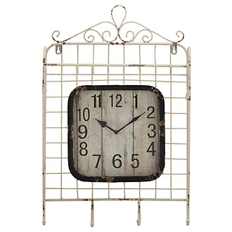 Muna Metal Square Wall Clock
