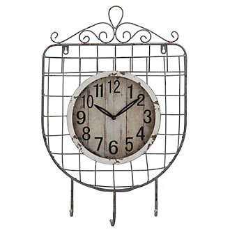 Muna Metal Curved Wall Clock