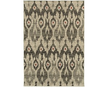 Highlands Gray 5X8 Area Rug