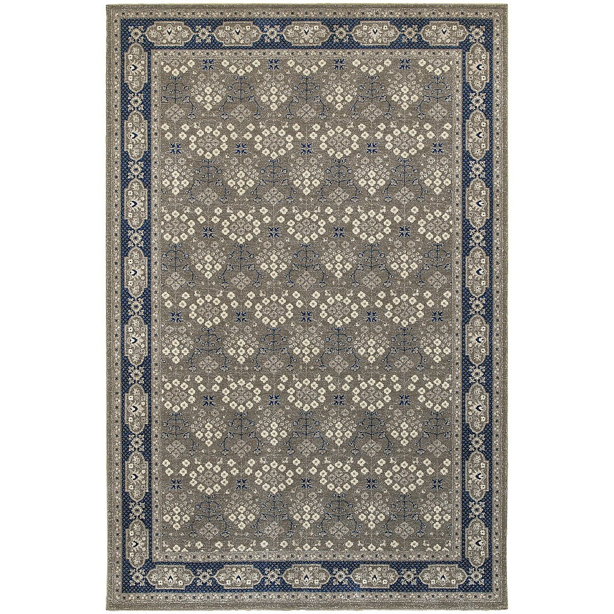 Richmond Dark Blue 8X11 Area Rug