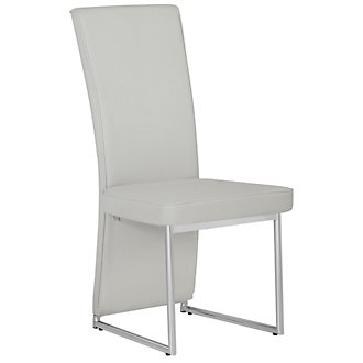 Paris Lt Gray Upholstered Side Chair