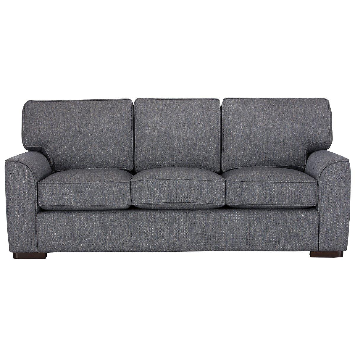 Living Room Furniture Austin City Furniture Austin Blue Fabric Sofa