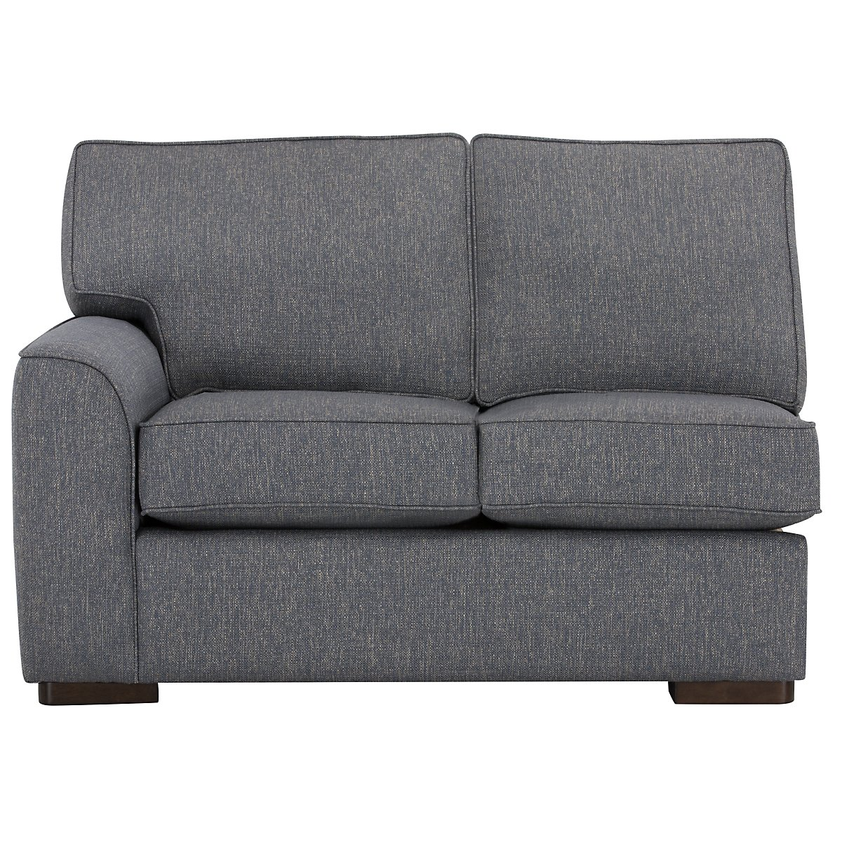 Free Furniture Austin: City Furniture: Austin Blue Fabric Right Chaise Sectional