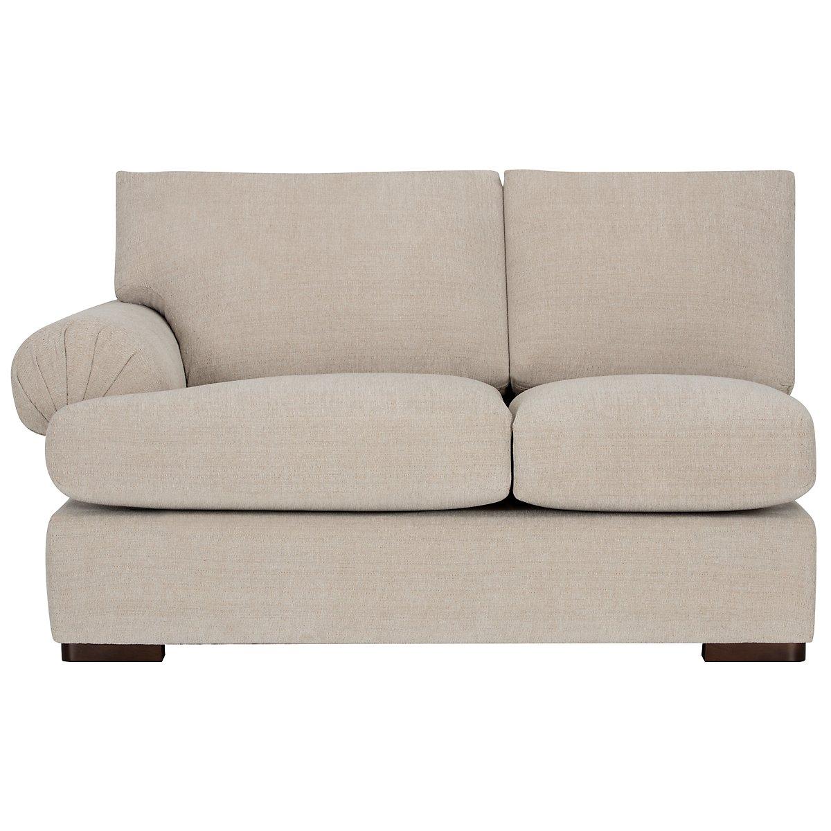 city furniture belair lt taupe microfiber medium right. Black Bedroom Furniture Sets. Home Design Ideas
