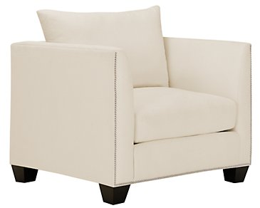 Briget2 Light Beige Fabric Chair