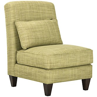 Propel Green Fabric Accent Chair