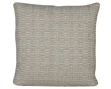 Jackie Teal Fabric Square Accent Pillow