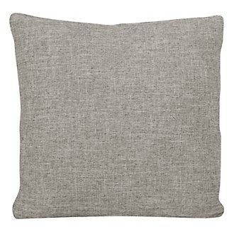 Paradigm Pewter Fabric Square Accent Pillow