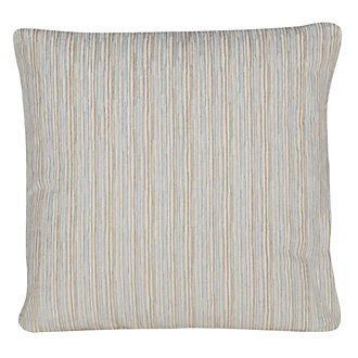 Cinna Lt Blue Stripe Square Accent Pillow