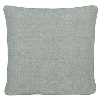 Belair Lt Blue Microfiber Square Accent Pillow
